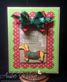 Really Reasonable Ribbon Blog: Merry Christmas Doxie!