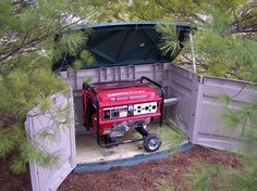 Generator enclosure finished!! - Hipoint Firearms Forums