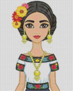 Cross Stitching, Cross Stitch Embroidery, Cross Stitch Patterns, Perler Patterns, Loom Patterns, Pixel Art Grid, Tea Design, C2c Crochet, Cross Stitch Heart
