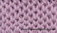 Honeycomb Brioche   The Weekly Stitch