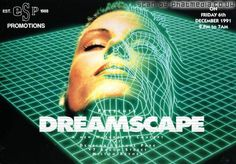 Dreamscape 1 @ The Sanctuary Milton Keynes 1991 - classic #raveflyers uploaded to #phatmedia