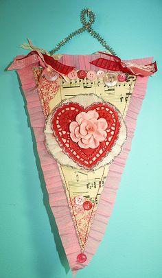 valentine pennant