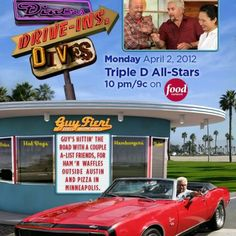 Diners, Drive-Ins &, Dives! Love this show!
