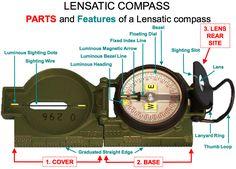 lensatic compass navigation - http://www.wildernesssurvivalskills.org/land-navigation-using-a-compass/