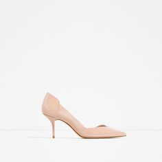 ZARA - COLLECTION AW16 - CONTRAST MID HEEL SHOES