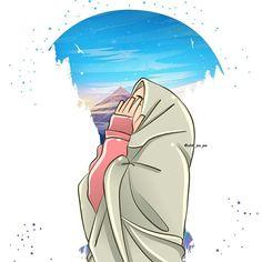 Ä°slamic anime - Best of Wallpapers for Andriod and ios Friend Cartoon, Girl Cartoon, Cartoon Art, Laika Studios, Hijab Drawing, Cute Muslim Couples, Islamic Cartoon, Hijab Cartoon, Islamic Girl