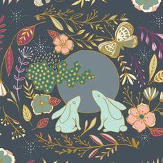 Maureen Cracknell - Nightfall Knit - Moon Stories Knit in Spark, autumn skirt