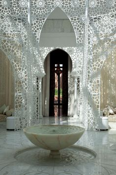Spa at the Royal Mansour Hotel in Marrakech, Morocco