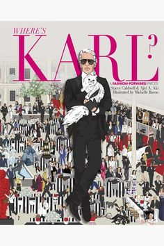 "Karl Lagerfeld Set to Star in His Own ""Where's Waldo?"" Parody: Will you be pre-ordering a copy to try and catch one of fashion's most illusive figures? Karl Lagerfeld, Anna Wintour, Woody Allen, Vogue Paris, Jet Set, Ou Est Charlie, Best Fashion Books, Fashion Magazines, Kim Kardashian"