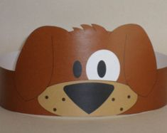 Puppy (Brown) Crown - Printable