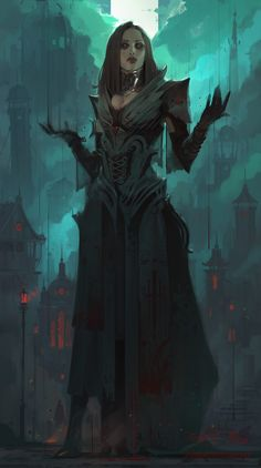 ArtStation - FIELD OF THORNS • BLOOD, IHOR PASTERNAK
