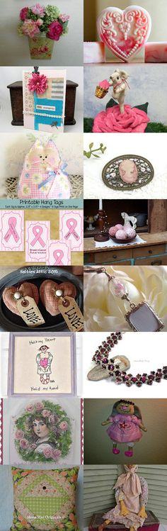 Breast Cancer Survivor Gifts, Think Pink TEAMHAHA by Becky McKinzie on Etsy--Pinned with TreasuryPin.com