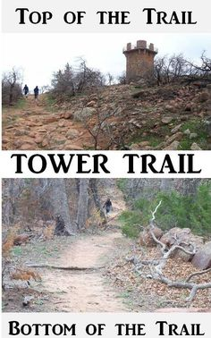 Tower Trail in the Wichita Mountain Wildlife Refuge, Oklahoma.  An easy, family friendly, one mile round trip hike.  Click for more trail information for your next family vacation trip.