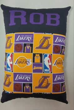 los angeles lakers pillow by victoryavenue on etsy 3200