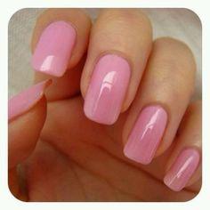 Pink and long nails