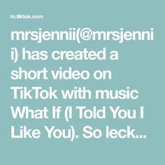 mrsjennii(@mrsjennii) has created a short video on TikTok with music What If (I Told You I Like You). So lecker 😍 ein Wort mit S? 🍬 IG: mrsjennii 🥺 #fy #fyp #foryou #viralvideo #viral #food #xyzbca #fürdich #fypage #foryoupage #slime I Like You, You And I, Told You So, Happy May, Dance Moms, Whitening, My Recipes, Videos, Remedies