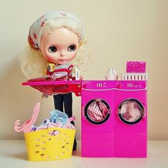 blythe and her twin washer!