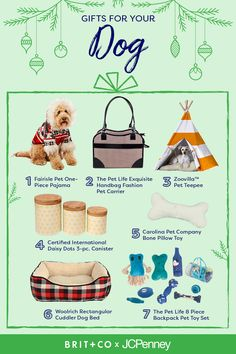 Attention pet lovers! Looking for last-minute gifts for your favorite dog or new puppy this holiday season? Check out these seasonal gift essentials from our pup-approved holiday list, like this fuzzy holiday fleece pajama set, plaid dog beg, pet carrier handbag, plush pillow toy, or chew toy set. This is the perfect gift guide for every dog owner in your life!