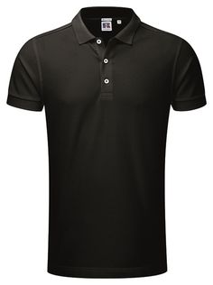 Perfekt polo for #corporatewear Russel Stretch polo Black