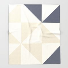 CREAM angles Collection Throw Blanket