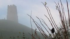 Glastonbury Tor surrounded by mist © Rob Holden. What an incredible shot. I hope to see this in person one day.