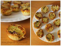 Tortini di ceci alle zucchine (vegan, senza glutine)