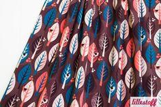 Bio Jersey Leaves Lillestoff von PinkPeppa auf DaWanda.com