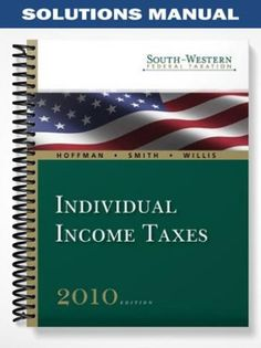 Hoffman Individual Income Taxes 2013 Study Guide