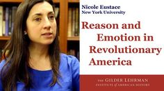 "Reason and Emotion in Revolutionary America by The Gilder Lehrman Institute. New York University historian Nicole Eustace discusses the ""tempest of emotion"" that swept through the ""Age of Reason,"" epitomized by the earliest call for a full break the American colonies and Great Britain, Thomas Paine's passionate ""Common Sense."""