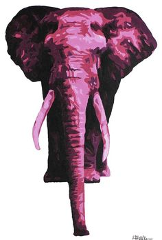 ... Elephants on Pinterest | Cocktail napkins, Elephant lamp and White