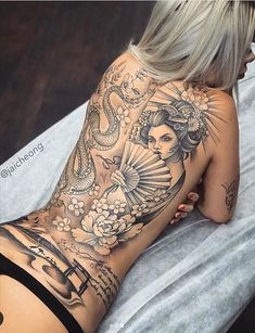 Back Tattoo | Naked Back Tattoos Are The Most Tempting! - Latest Fashion Trends For Woman