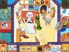 Wer war's? Brettspiel App für Kinder