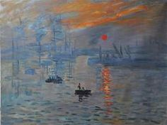 impressions of a sunrise Monet