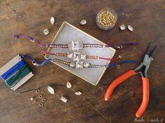 Holiday DIY Crystal Bracelets