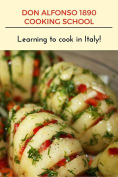 At the renowned Don Alfonso 1890 Cooking School in Italy, a novice chef wonders how she got there and what lessons she would take home. Travel in Europe.