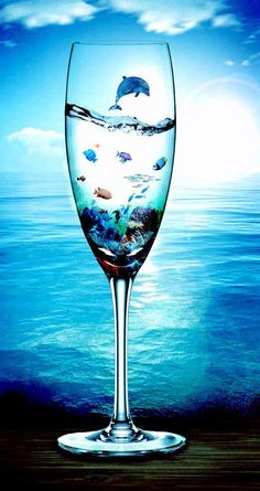 ocean in a glass