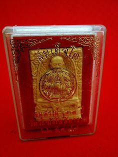Thai Amulet Phra LP Tho Wat Rakang Pray Temple Original Box Buddha Blessed Charm | eBay