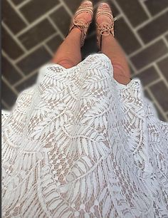 Forever21 Lace-Up Lace Dress