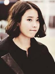 Image result for iu korean short hair