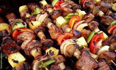 Roasted meat with vegetable  LiberianDish