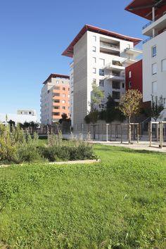 Port Marianne - Quartier Jardin de la Lironde - architecte Christian de Portzamparc - photo MC Lucat