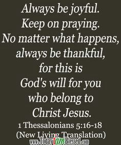 1 Thess 5:15-18