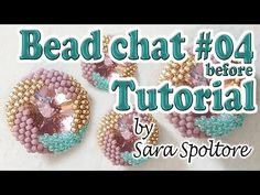 Bead chat before Tutorial Jewelry Patterns, Beading Patterns, Diy Jewellery Board, Beading Tutorials, Bead Weaving, Beaded Embroidery, Jewelry Crafts, Google Chrome, Beaded Jewelry