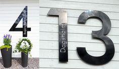 Förfrågan specialsiffra : Fasaddekor.se - Unikt designade husnummer