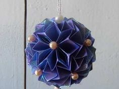 Kusudama - Origami Beaded Ball