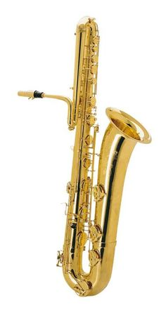Keilwerth Bass Saxophone - Gold Lacquer - The Keilwerth bass saxophone produces a rich, deep tone. Gold lacquer creates a bright and centered sound. Bass Saxophone, Clarinet, Oboe, Trombone, Bari, Trumpets, Musical Instruments, Flutes, Instrumental
