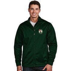 Men's Antigua Boston Celtics Golf Jacket, Size: Large, Dark Green