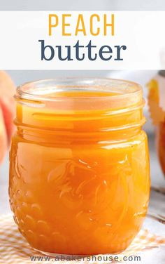Make Peach Butter Easily In The Instant Pot, Crock Pot Or Slow Cooker. Utilize Fresh Peaches Or Frozen Peaches. Include Mangoes If You Wish For This Smooth And Creamy Fruit Spread. Fruit Recipes, Peach Jam Recipes, Canning Peach Recipes, Peach Jelly Recipe Canning, Mango Salsa Canning Recipe, Recipes With Fresh Peaches, Peach Jam Recipe Without Pectin, Peach Preserves Recipe, Pressure Canning Recipes