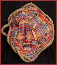 Happy New Year (2007) by master basket weaver Tina Pucket