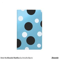 Dots On Blended SkyBlue Journals